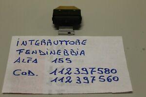 ALFA ROMEO 155 INTERRUTTORE FENDINEBBIA COD. 112397580-112397560