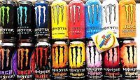 Monster Energy Drink 16oz. - 16 Pack