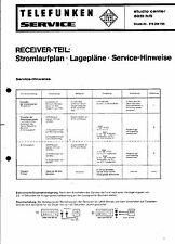 Telefunken Service Manual für studio center 5031 hifi Receiver - Teil
