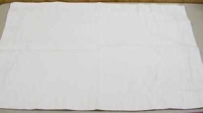 (1) 100% Cotone Egiziano Federe Cuscino ~bianco~ Standard 20x 24 Nuovo