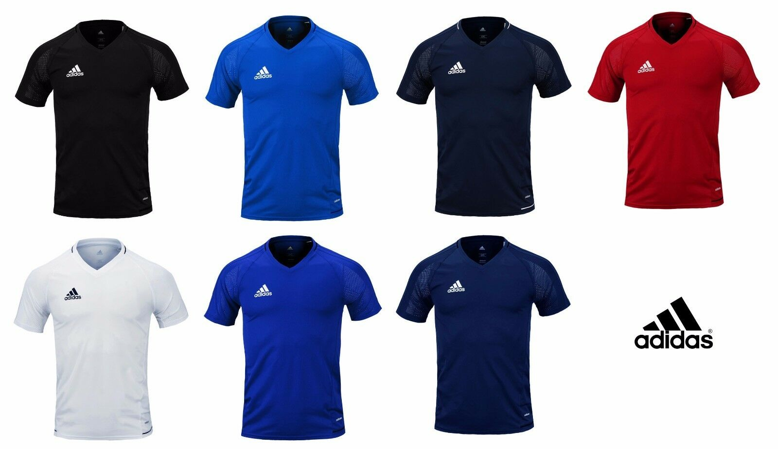 Adidas Tiro 17 Training S S Jersey T-Shirt Soccer Football Climacool Shirt Top