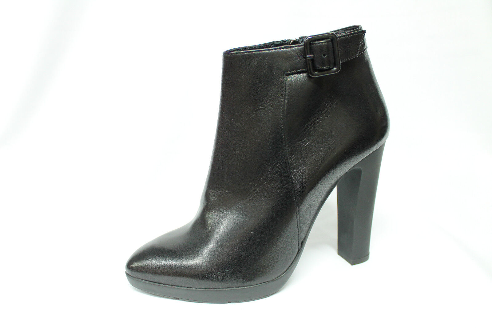 Tronchetti con plateau Frau 66P4 black Made in  listino - 20%