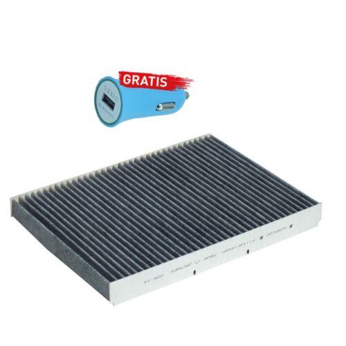 Filteristen Innenraumfilter pollienfilter Audi A3 1.6 Autoladegerät geschenkt