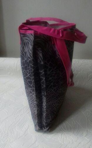 dorothy perkins Grey animal print tote bag