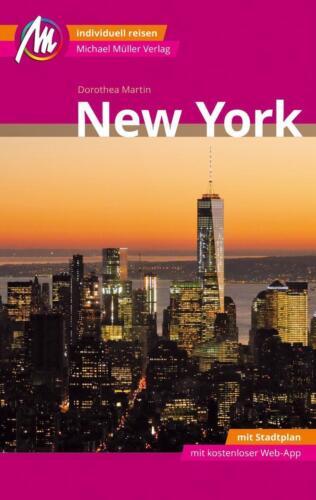 1 von 1 - Reiseführer New York 2017/18+ Stadtplan Michael Müller Verlag, ungelesen wie NEU