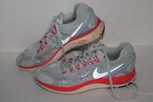 finest selection 56c4b e5334 Image is loading Nike-Lunarglide-4-Running-Shoes-537535-406-Gray-