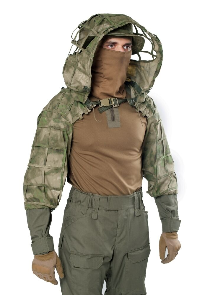Disguise Sniper Coat  Scorpion    Viper  Hood A-TACS FG by Giena Tactics  lowest whole network