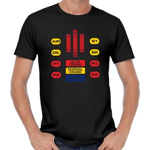 KITT-COCKPIT-Michael-Knight-Hasselhoff-Rider-LED-80er-80s-Kult-Trans-AM-T-Shirt