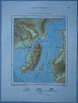 1889 Perron map ILOILO AND GUIMARAS STRAIT, VISAYAS ... on chocolate hills philippines map, boracay philippines map, sarangani province philippines map, mandaluyong philippines map, camp o'donnell philippines map, mati philippines map, koronadal philippines map, kalinga philippines map, maguindanao philippines map, visayas philippines map, manila philippines map, sibuyan philippines map, mount mayon philippines map, philippines on map, fort bonifacio philippines map, digos philippines map, tacloban philippines map, iloilo aklan map, philippines aerial map, oslob philippines map,