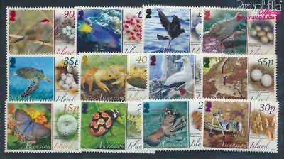 Other African Stamps Adroit Ascension 1021-1032 Mnh 2008 Eierlegende Animals 8610157 Africa