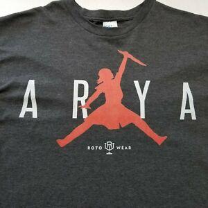 yo lb fingir  Juego de Tronos Arya Stark Hombre Camiseta Talla 2XL roto desgaste Jordan  Jumpman L80 | eBay
