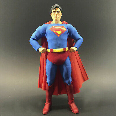 SQ-SUPH-SS No Figure Unpaid Superman Head for Mezco One:12 Superman