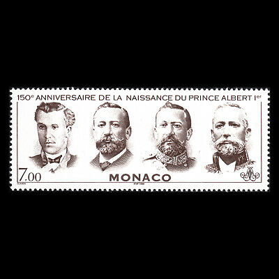 Monaco 1998 - 150th Anniversary of the Birth of Prince Albert I - Sc 2074 MNH
