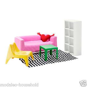 Alerte Ikea Huset De Poupée Meubles, Salle De Séjour Salon Miniature Jouets Enfants Uk-rv-ng Room Lounge Miniature Toys Children Uk-rv Fr-fr Afficher Le Titre D'origine