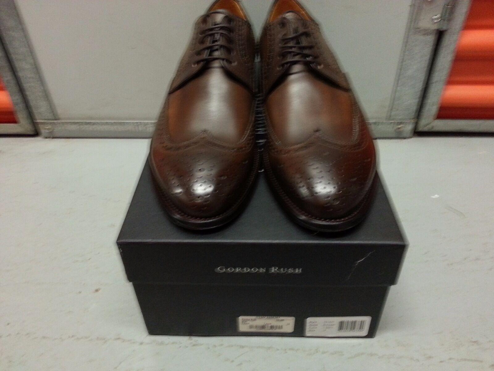 sconto prezzo basso Gordon Rush Rush Rush Brewster Wingtip scarpe (T. More) 2998761-101435 - Dimensione US10 (EU43)  ci sono più marche di prodotti di alta qualità