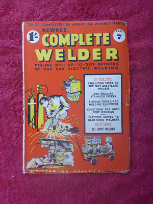 Logical Vintage Newnes Complete Welder Magazine Metalworking Manuals, Books & Plans Part 7 Cnc & Metalworking Supplies