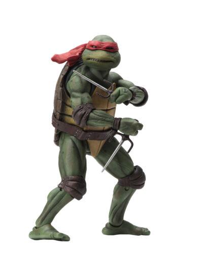 Teenage Mutant Ninja Turtles 1990 MOVIE Raffaello Action Figure TMNT NECA