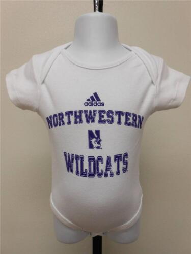 New-Northwestern Wildcats Enfant Creeper Taille 6-9 Months Adidas 65KJ