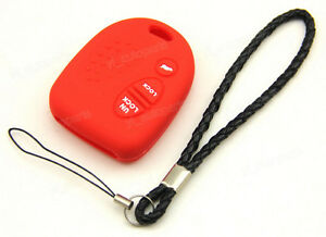 Red-Silicone-Case-For-Holden-Commodore-VS-WH-WK-WL-VT-VX-Remote-Key-2-3-Buttons