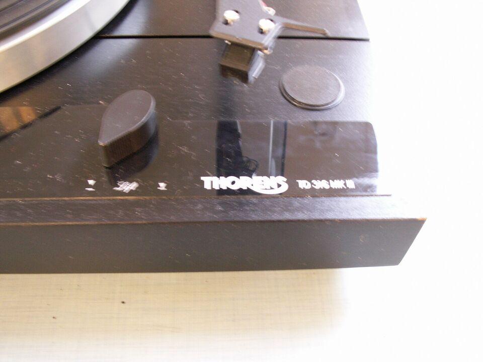 Pladespiller, Thorens, TD316 Mark 3