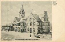 Wyoming, WY, Cheyenne, Union Pacific Station UDB Albertype Co Postcard