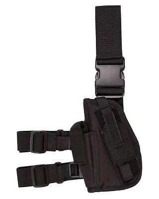 KOMBAT TACTICAL DROP LEG HOLSTER BLACK LEFT HANDED
