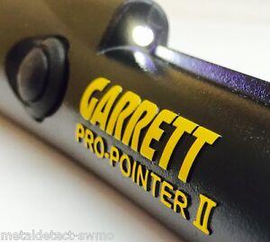 New-GARRETT-PRO-POINTER-II-Metal-Detector-Pinpointer-Probe-Authorized-Dealer