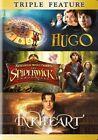 Hugo 2011 The Spiderwick Chronicles Inkheart 3 Disc DVD