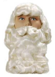 Father Christmas Wig & Beard, Santa, Xmas, Superior Quality, Fancy Dress Wig #AU 5051090060189