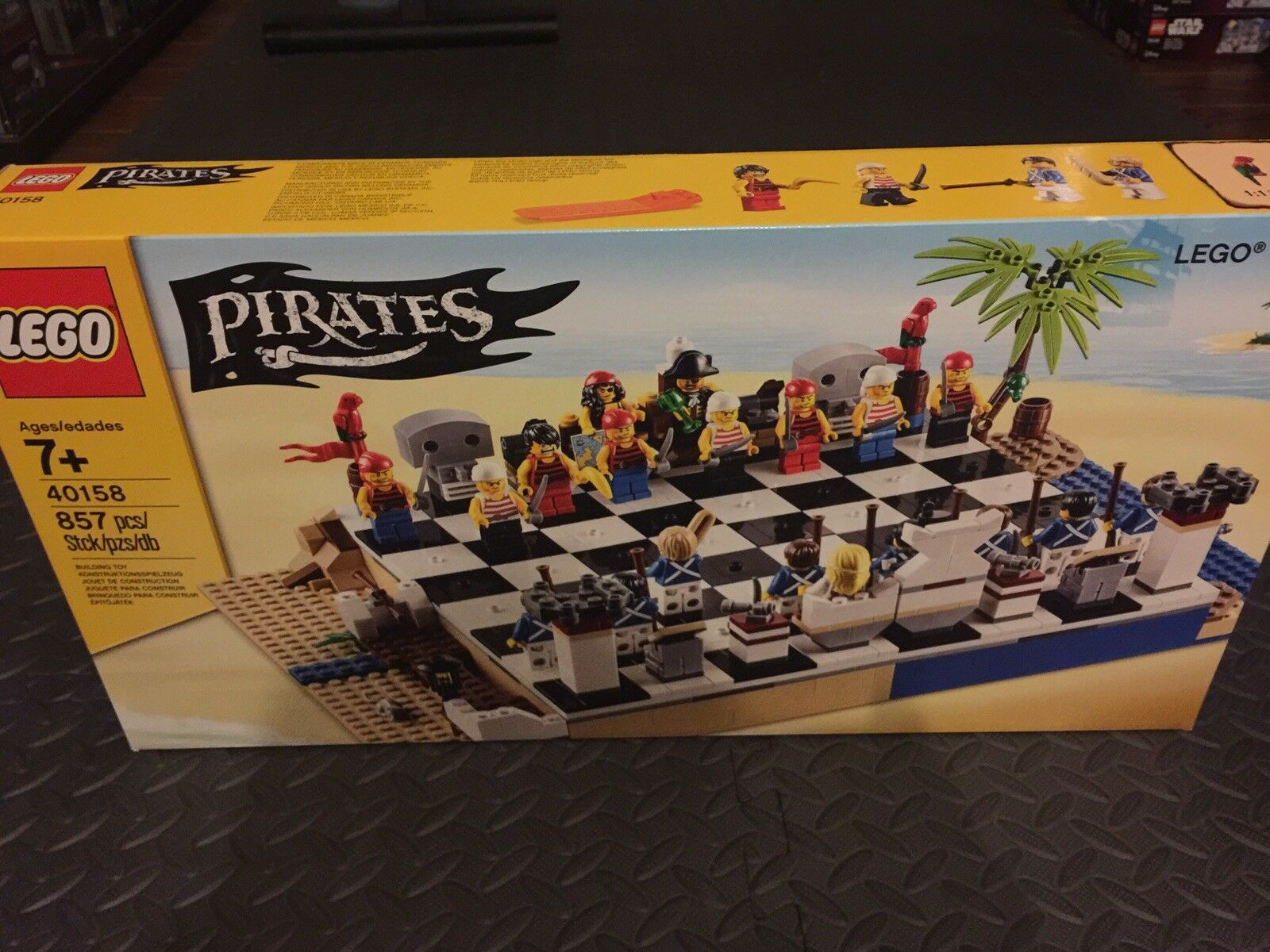 Lego 40158 40158 40158 Pirates Chess - Brand New Factory Sealed ffe423