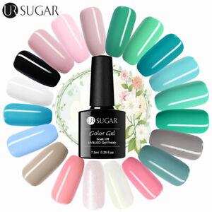 UR-SUGAR-7-5ml-LED-Nail-Art-Gellack-Top-Coat-UV-Gel-Nagellack-112-Colors