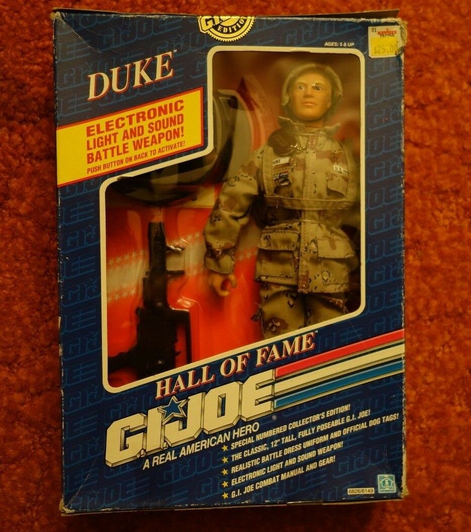 1991 Limited Edition HASBRO  DUKE HALL OF FAME  GI JOE IN BOX