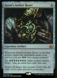Gonti-039-s-Aether-Heart-FOIL-NM-Aether-Revolt-Magic-MTG