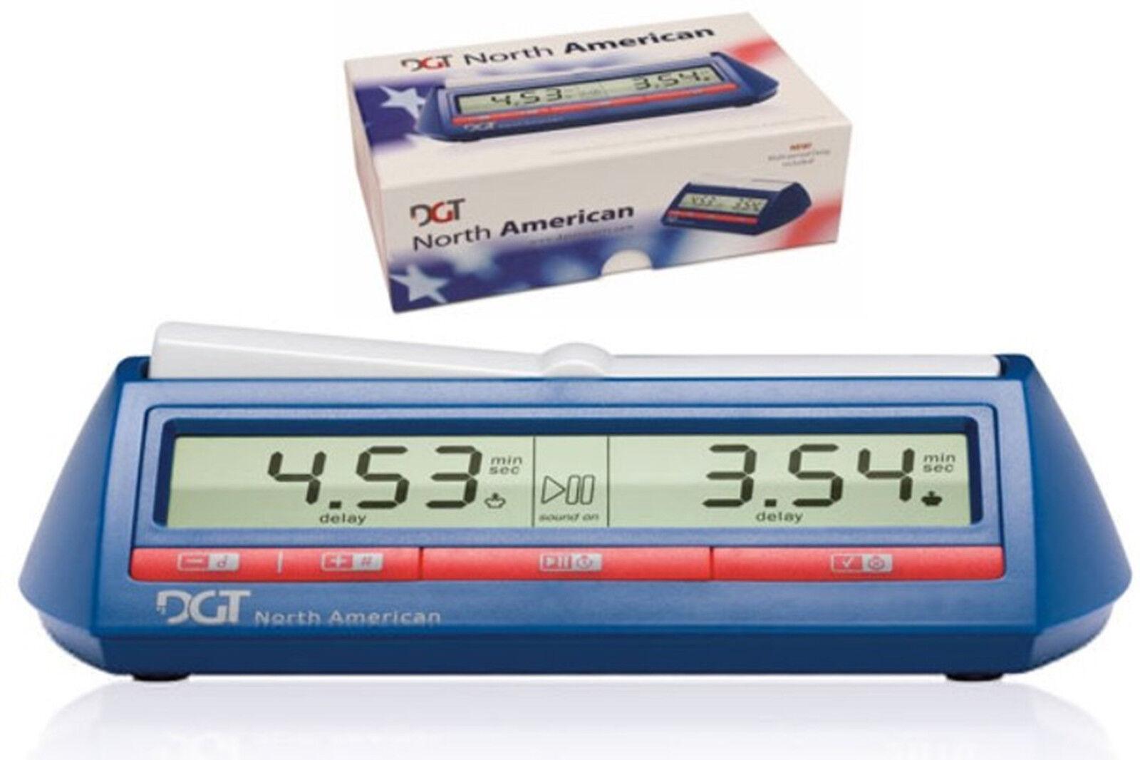 DGT North America. electrónico digital Reloj de Ajedrez. nuevo