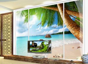 3D Sunlight Beache 85 Wall Paper Murals Wall Print Wall Wallpaper Mural AU Kyra