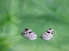 """PALE PINK GRAY MARY JANE SHOES 4 PAOLA REINA 13.5/"""" DOLLS ACCESSORY COLLECTIBLES"""