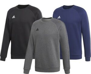 Adidas-Mens-Fleece-Cotton-Tracksuit-Top-Training-Gym-Jumper-Sports-Size-S-2XL