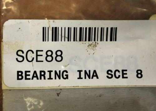 "INA SCE88 1//2/"" X 1//2/"" Needle Bearing NEW"