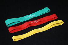 Fitnessband 5er Set Fitnessbänder Gymnastikbänder Naturlatex 5 StärkenÜbungsband