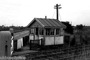Stainforth Lane Signal Box South Yorks 1969 Rail Photo