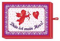 Coppenrath dein Ist Mein Herz Schachtel Mit Herz- Tangram & Grußkärtchen Neu