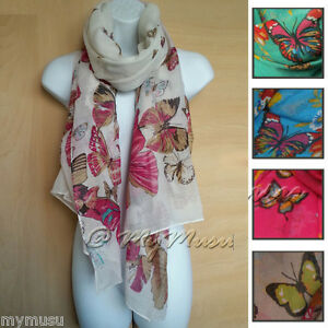 Large-Butterfly-Print-Scarf-Ladies-Womens-Big-Soft-Fashion-Hot-Scarves-Hijab-New