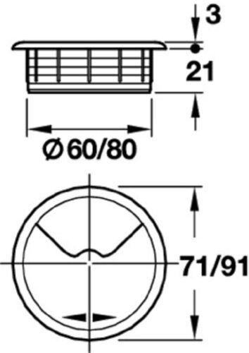 Pihami ® câble de la laine 60 mm 2 pcs Acier Inoxydable Couleurs Câble de mise en œuvre