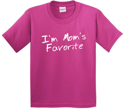 Youth T-Shirt I/'m Mom/'s Favorite Daughter Son Sibling Rivalry New Way 470