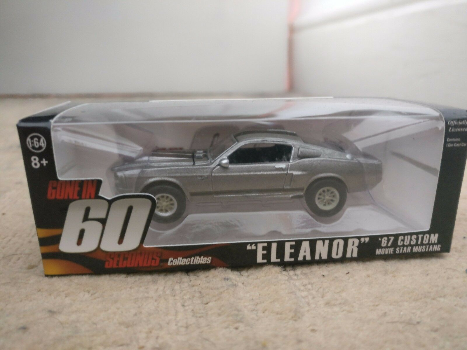 Eleanor  Gone in 60 seconds 1 64th 67' Mustang. Lootcrate exclusive RARE