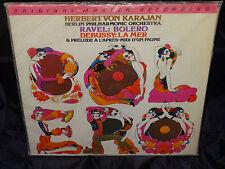 Ravel /Strauss Karajan Berlin Philharmonic Orchestra SEALED JAPAN MFSL 1980 LP