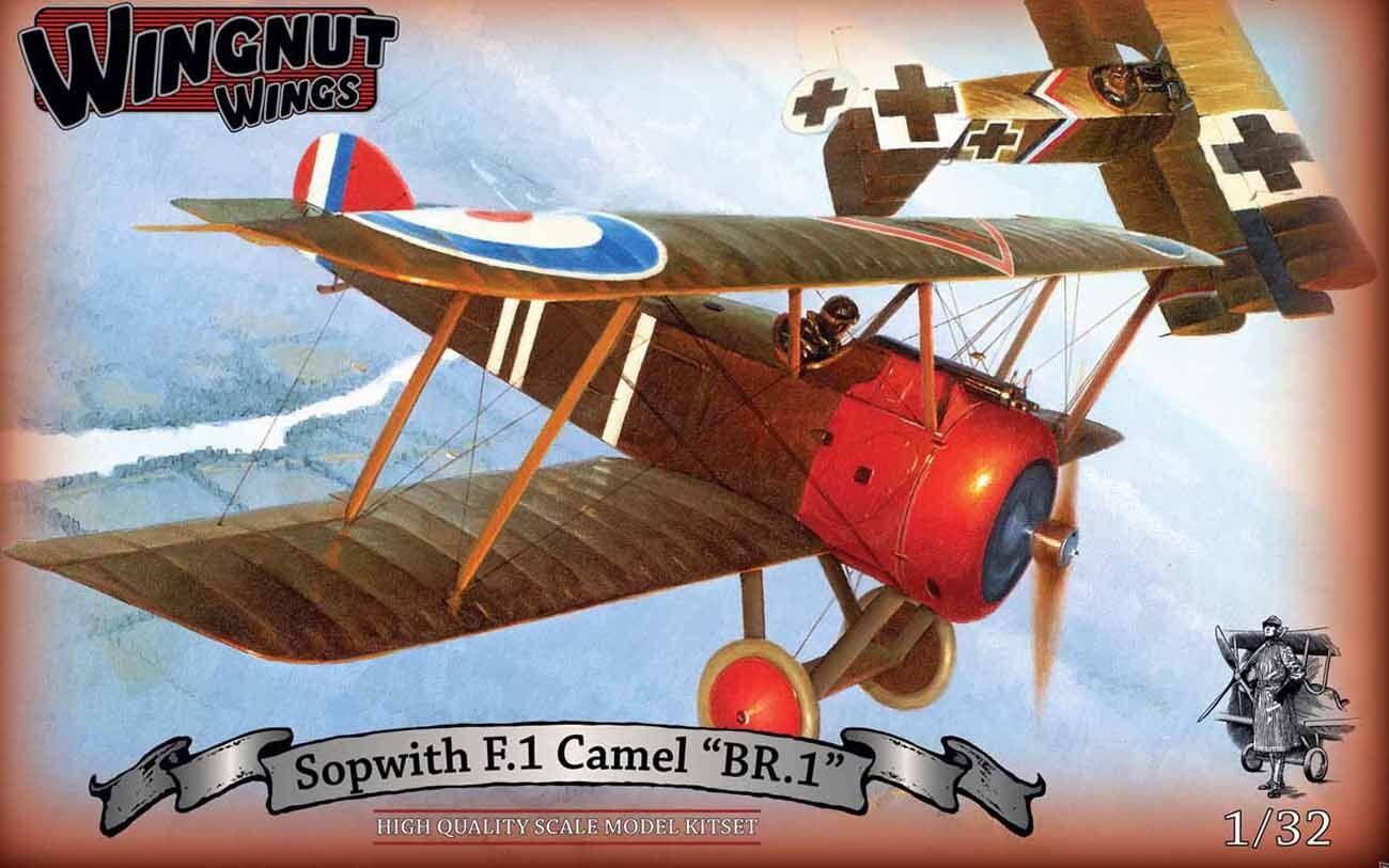 WINGNUT WINGS 1 32 SOPWITH F.1 CAMEL  BR.1  32070 NEW