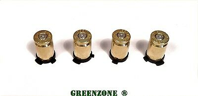 Custom Xbox 360 Controller Bullet Buttons 9mm Real Brass Metal ABXY Mod Kit