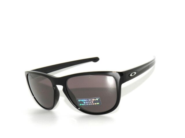 88a1ef01c74 CLEARANCE~OAKLEY SLIVER R 9342-07 BLACK PRIZM DAILY POLARIZED SunglasseS