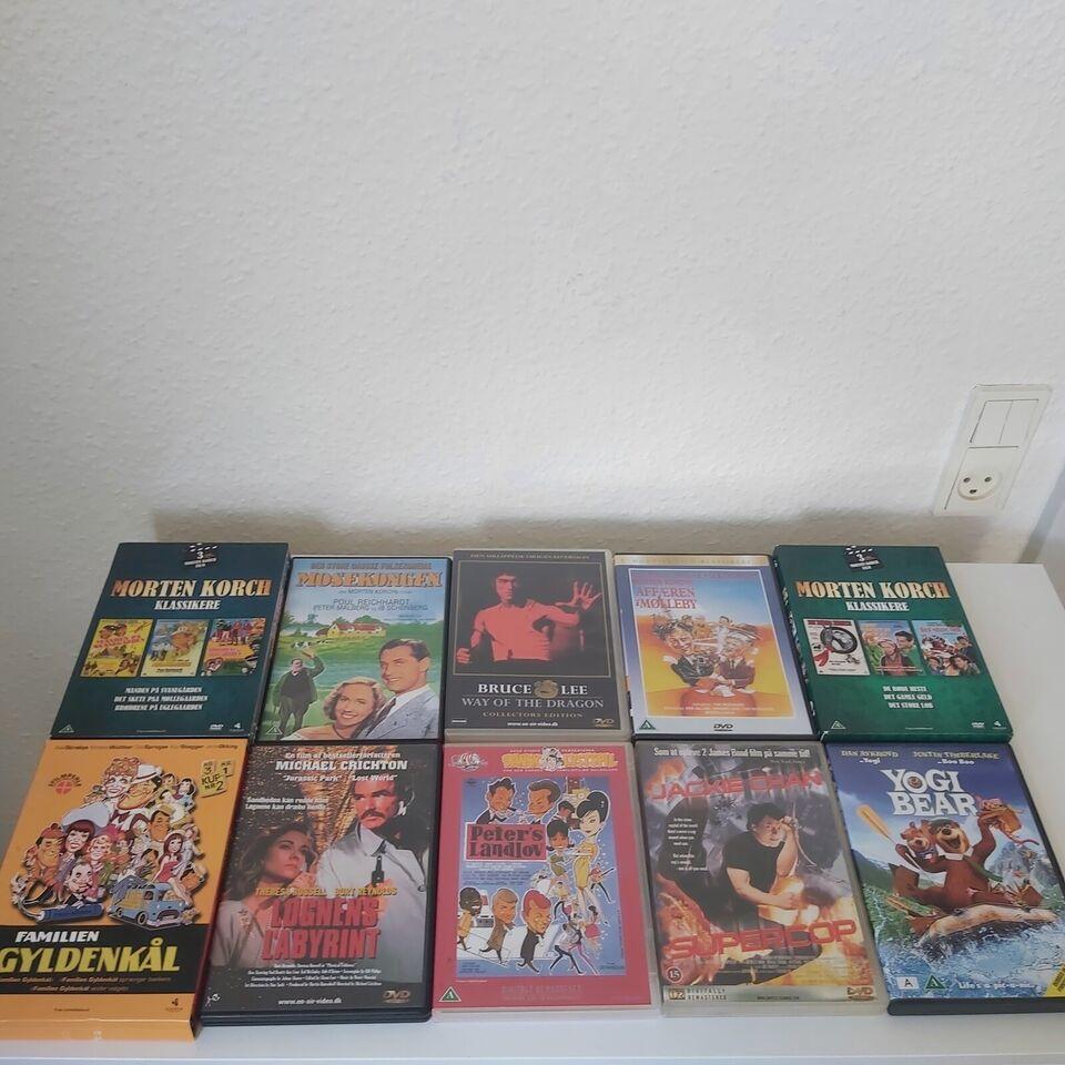 DVD Film Vælg fra liste, DVD, andet